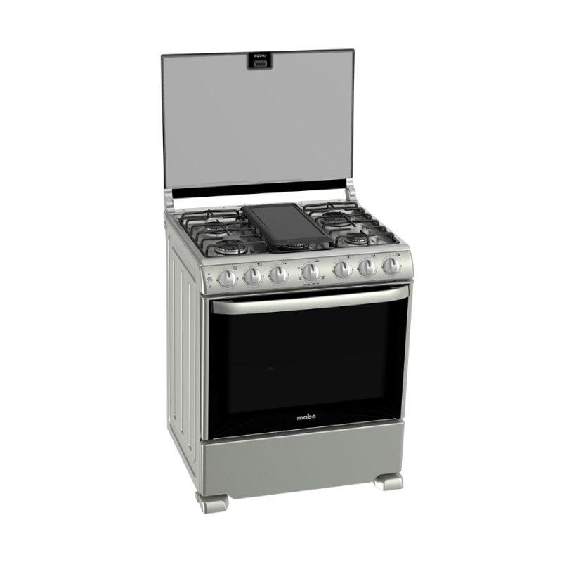 Estufa-6-Quemadores-MABE-Mod.-EM7657CSIS0-derecha-abierta